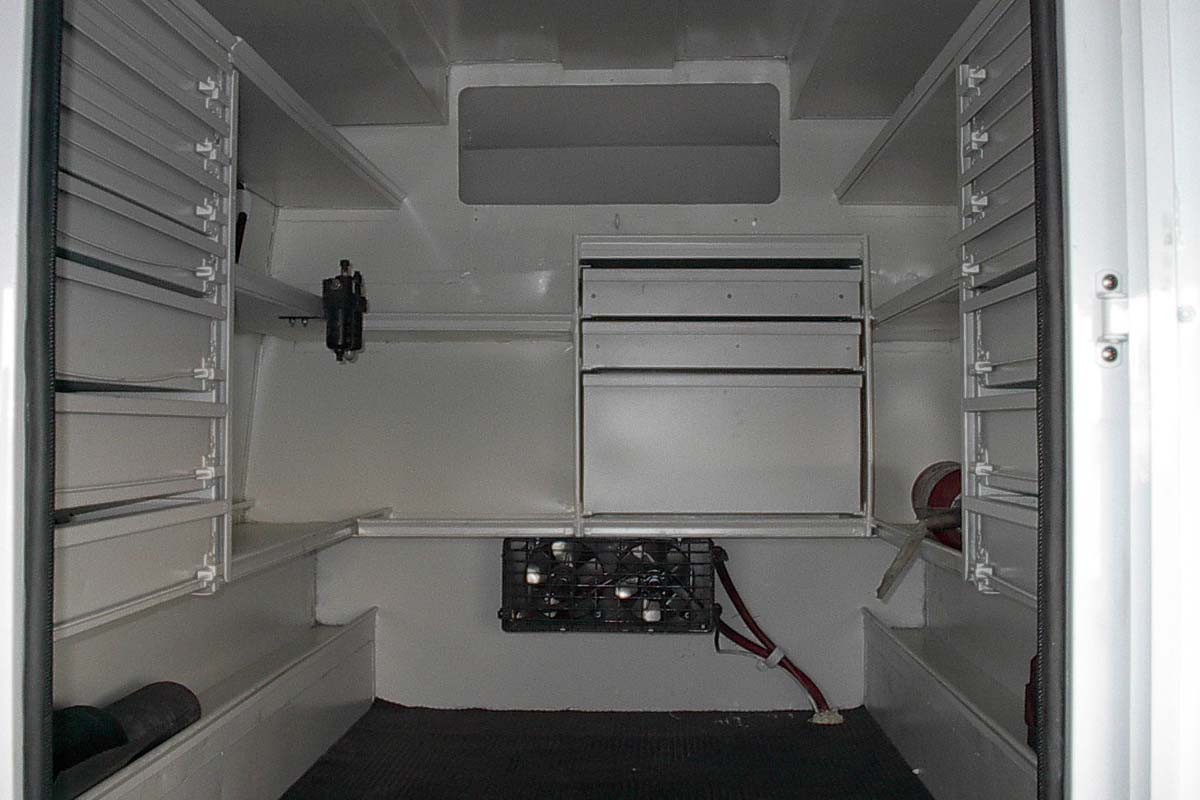 Truck Canopy inside view